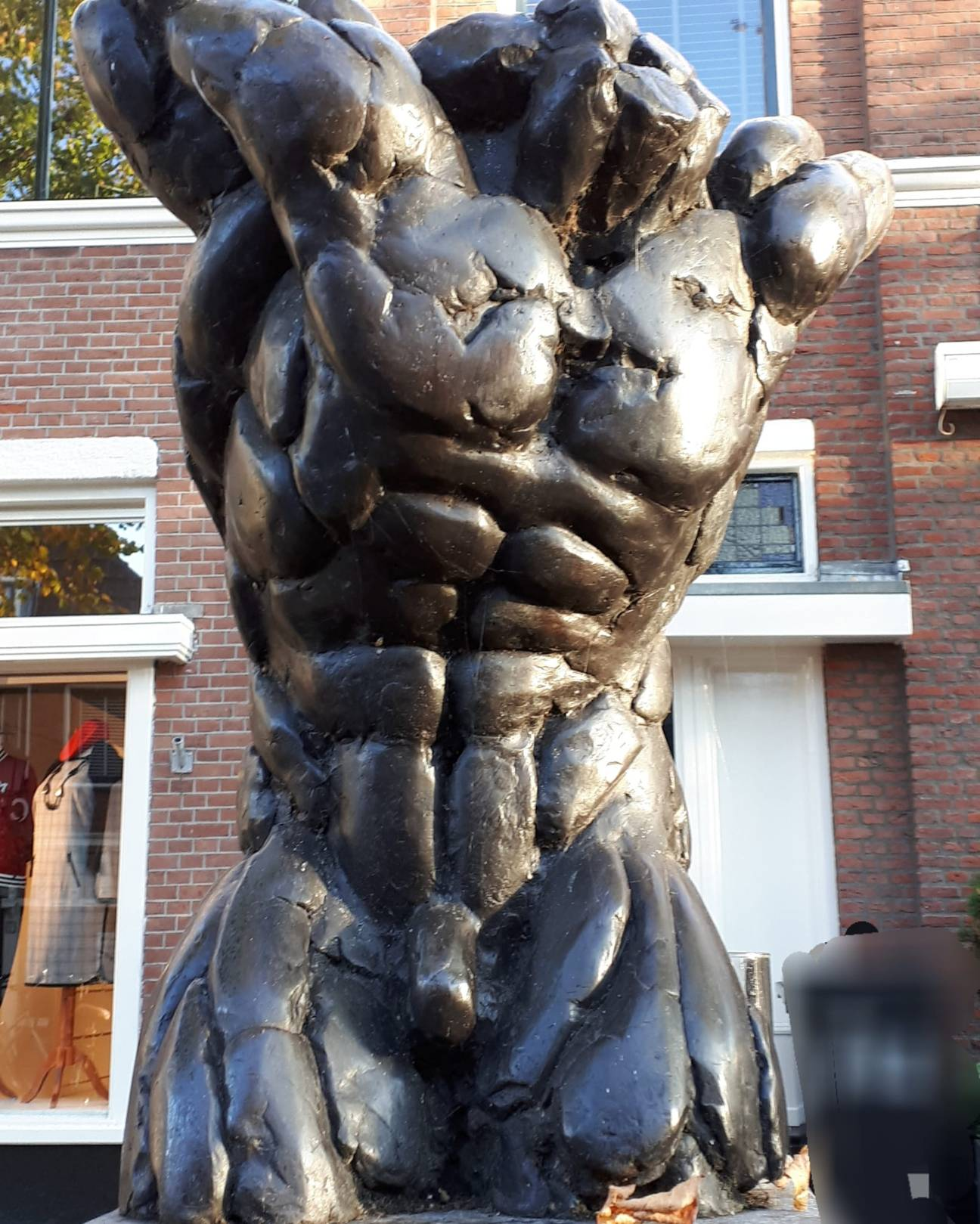 Atlas in de Herenstraat Voorburg